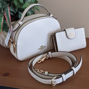 Coach Serena Crossbody Wallet Set